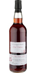 Aultmore 25yo A.D. Rattray